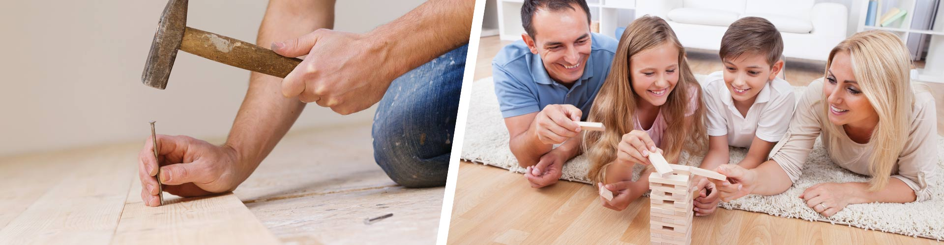 Cincinnati Hardwood, Carpet and Flooring Expert Installers - Banner