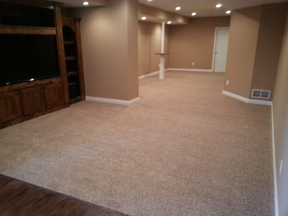 Living Room Carpet Installation - Valvano Carpeting Images