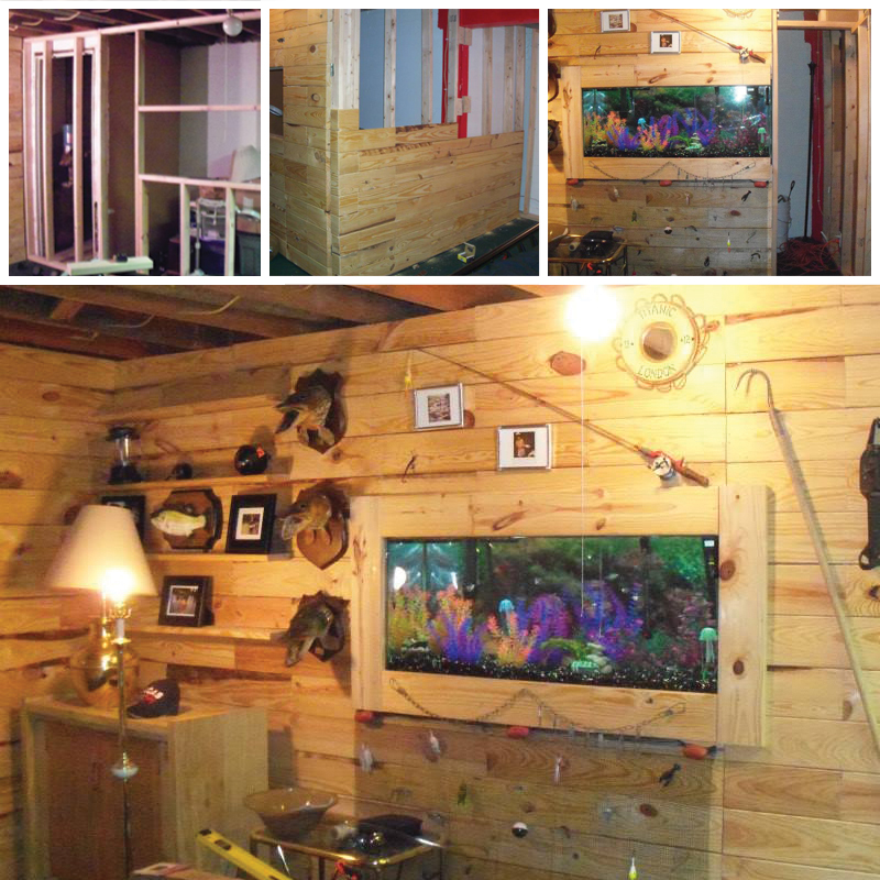 DIY Wooden Pallet Man Cave - Custom Built Fist Tank
