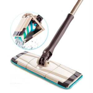 Rotating Head Microfiber Cleaning Floor Mop