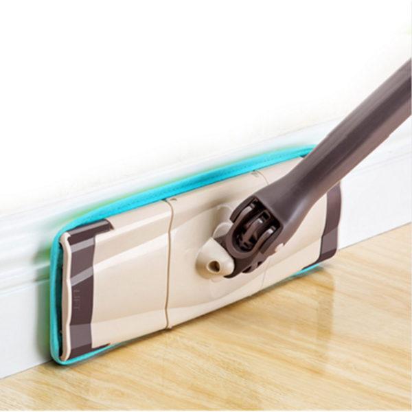 Rotating Head Microfiber Cleaning Floor Mop